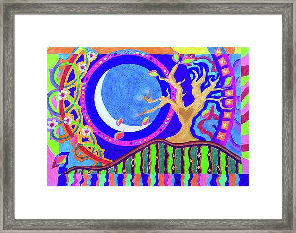 Seasons And Phases Framed Print