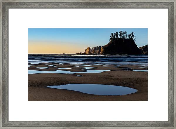Second Beach Framed Print