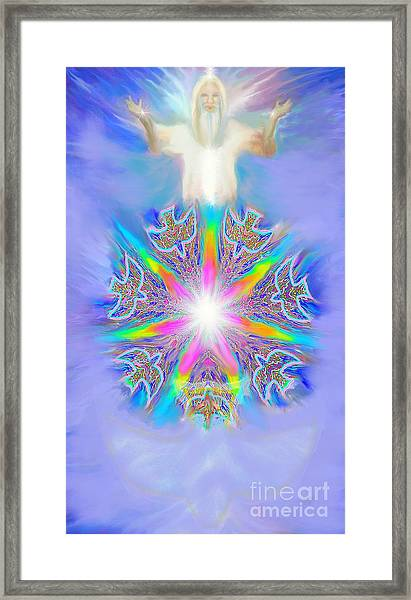 Second Coming Framed Print