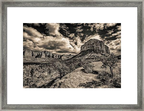 Sedona Landscape 2 Framed Print