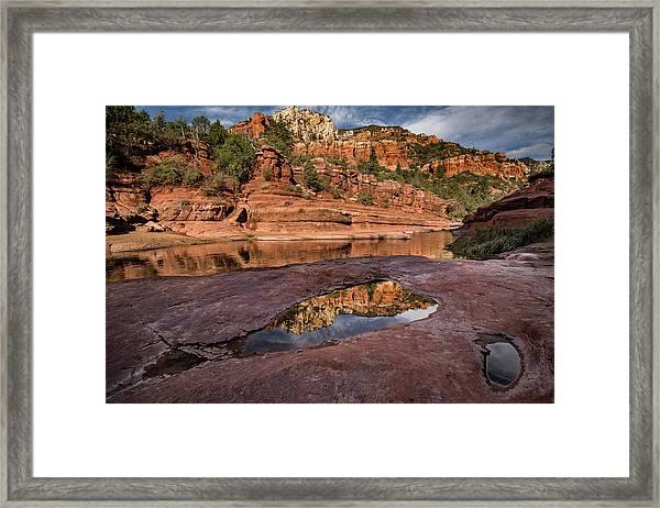 Sedona Near Oak Creek Framed Print