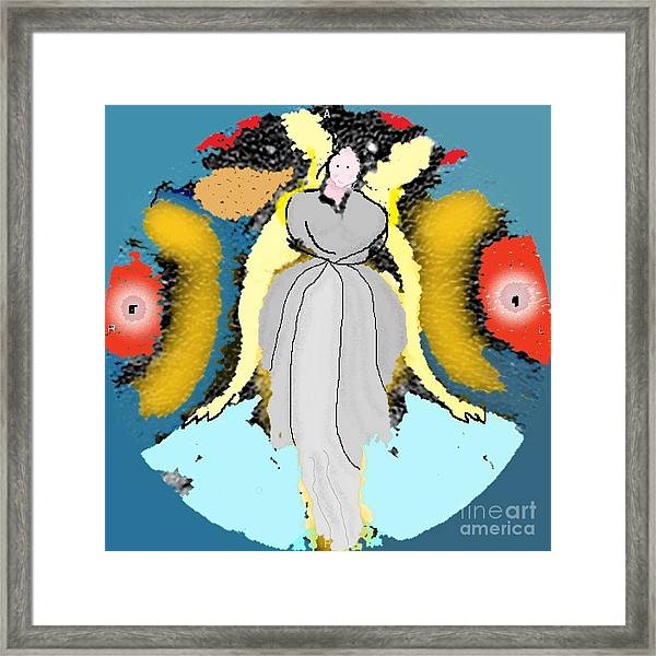 Seeing Angels Framed Print