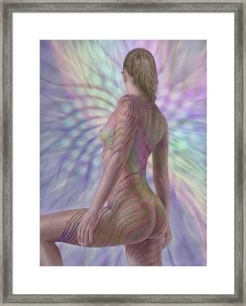 Seeing Phyllotaxis Framed Print
