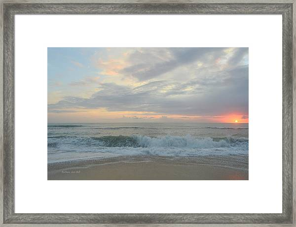 September 23 2018  Framed Print