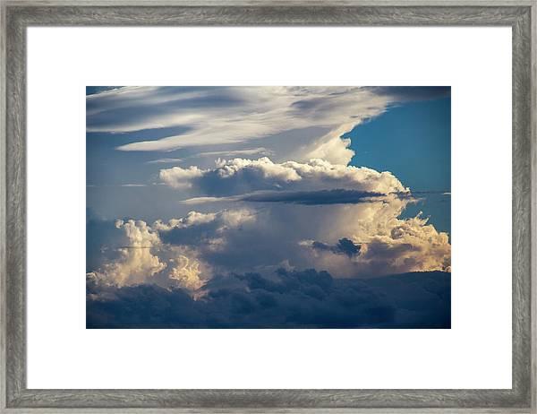September Storm Chasing 015 Framed Print