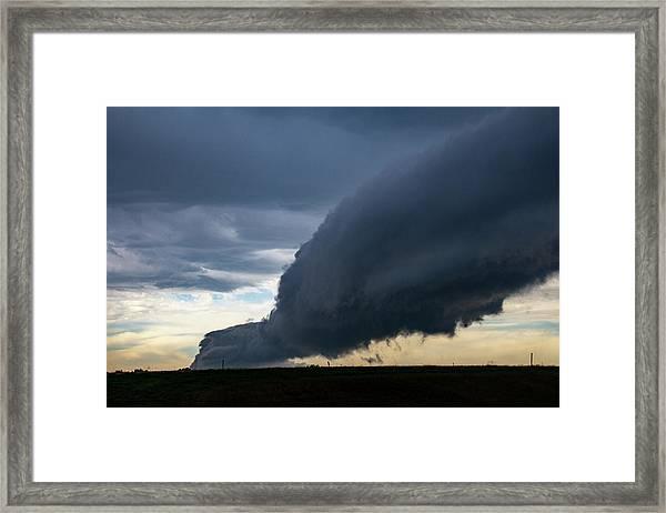 September Thunderstorms 003 Framed Print