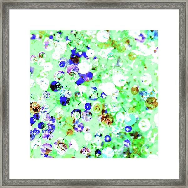 Sequins And Pins 1 Framed Print