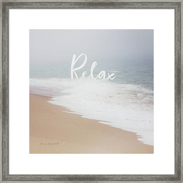 Serene Sea II Framed Print