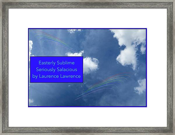 Seriously Salacious Bn Framed Print