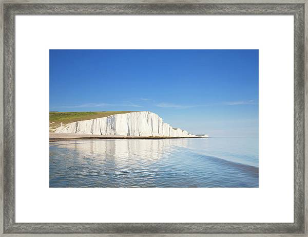 Seven Sisters East Sussex England Framed Print