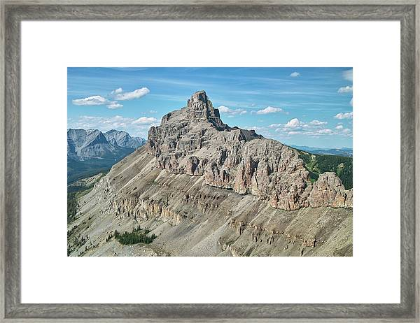 Seven Sisters Mountain Framed Print