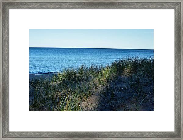 Shade On Lake Superior Framed Print