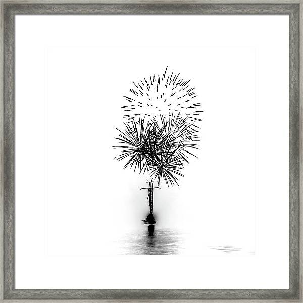 Shades Of Grey Collection Set 01 Framed Print