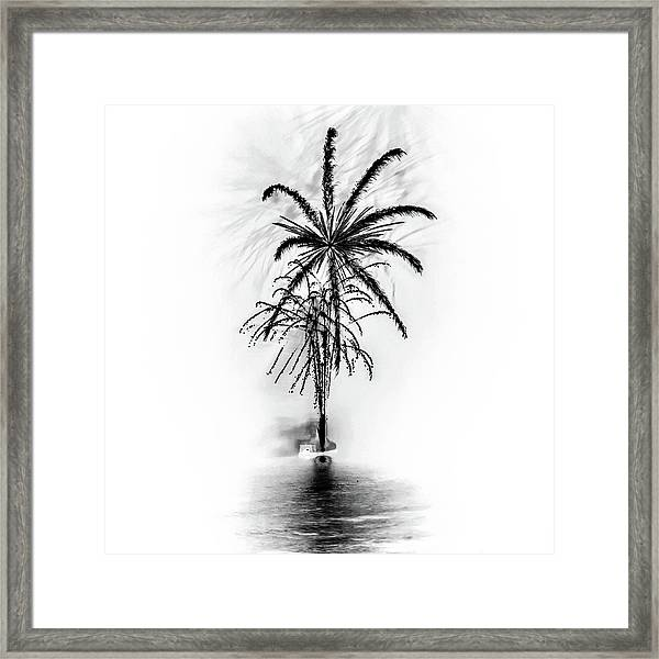 Shades Of Grey Collection Set 02 Framed Print