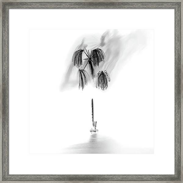 Shades Of Grey Collection Set 05 Framed Print