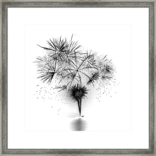 Shades Of Grey Collection Set 06 Framed Print