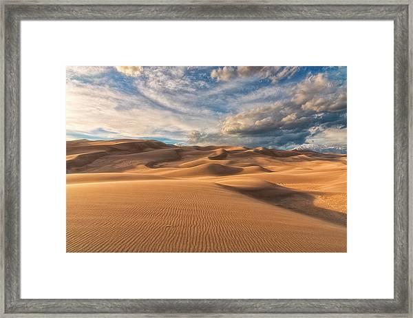 Shadowed Framed Print