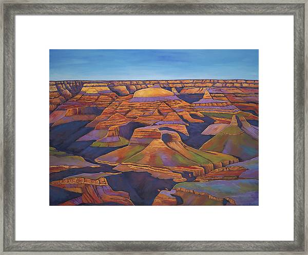 Shadows And Breezes Framed Print
