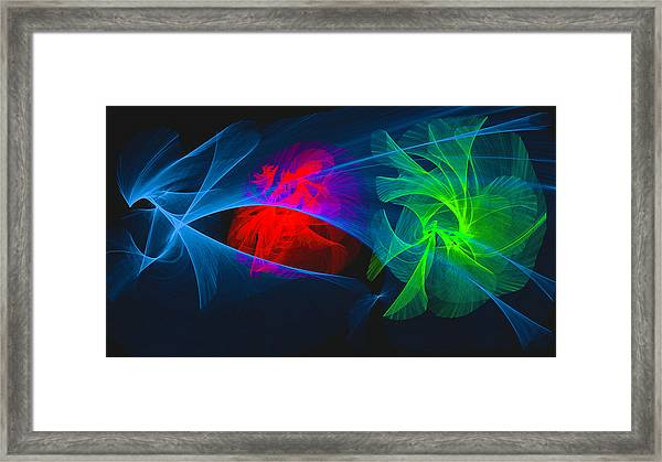 Shapes And Colours #i1 Framed Print