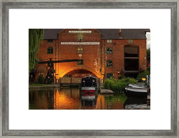 Shardlow Wharf Framed Print
