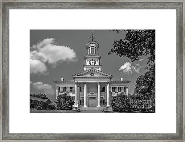 Shepherd University Mc Murran Hall Framed Print by University Icons