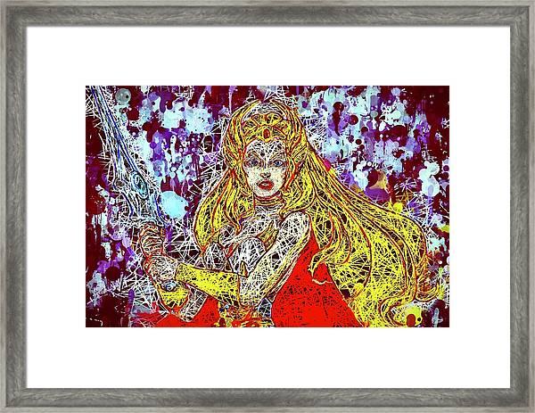 She - Ra Framed Print