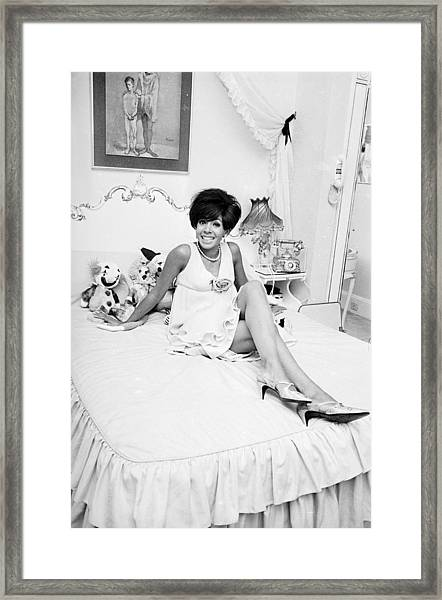 Shirley At Home Framed Print