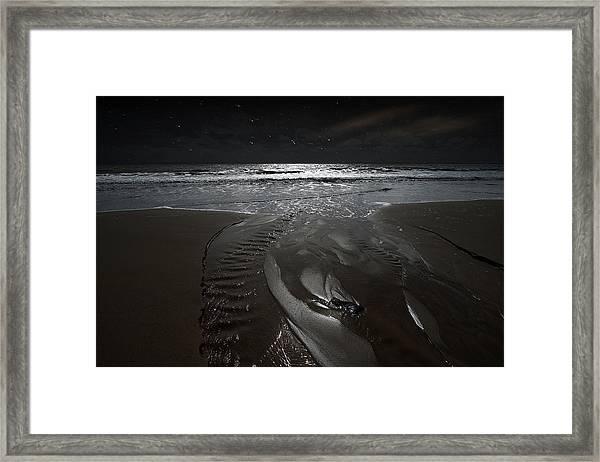Shore Of The Cosmic Ocean Framed Print