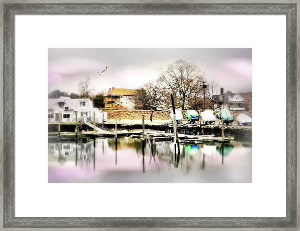 Short Cut Framed Print
