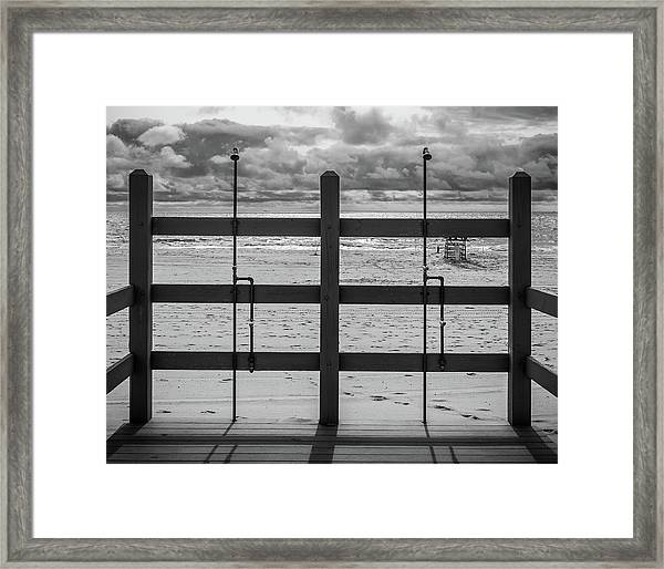 Framed Print featuring the photograph Showers by Steve Stanger