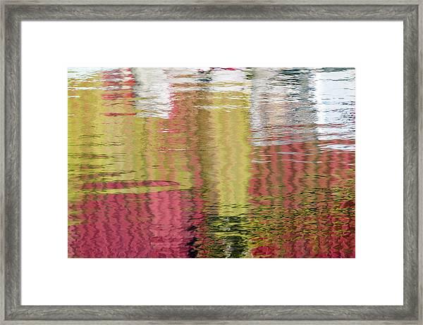 Siding Salesman Framed Print
