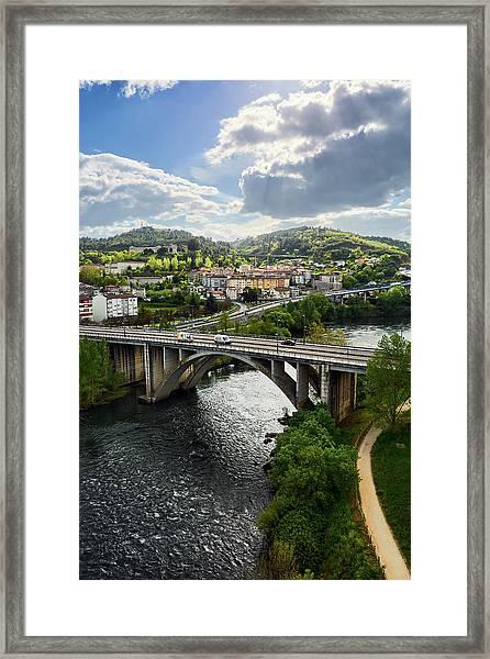 Sights From The Millennium Bridge Framed Print