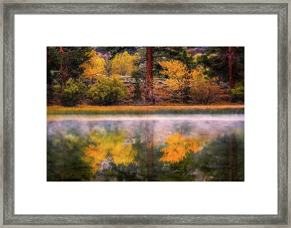 Silver Lake - Breath Of Air Framed Print