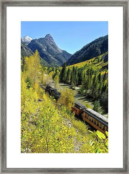Silverton Durango Railroad Framed Print