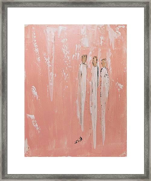 Friendship Angels Framed Print
