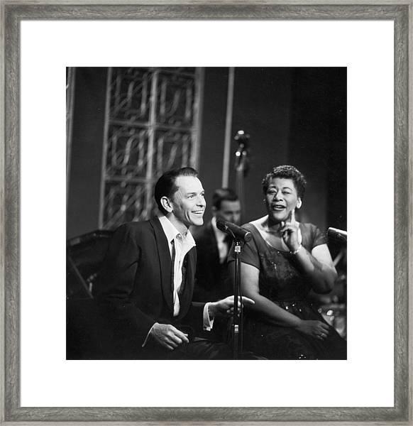 Sinatra & Fitzgerald Framed Print