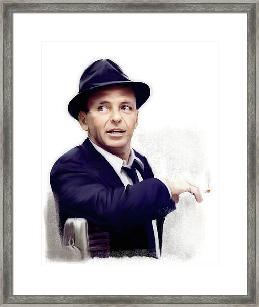 Frank Sinatra Sinatra Framed Print