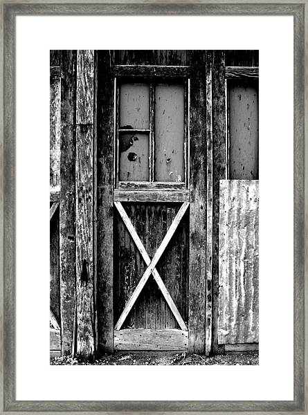 Sinclair Door Framed Print