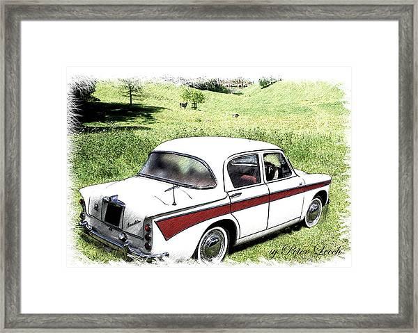 Singer Gazelle Framed Print