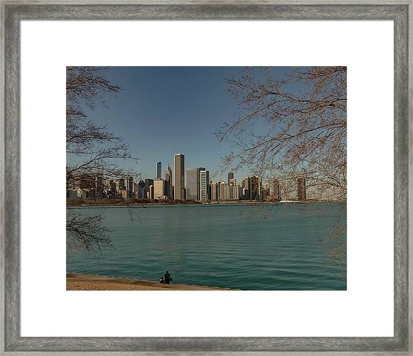 Sitting On A Summer Day Framed Print