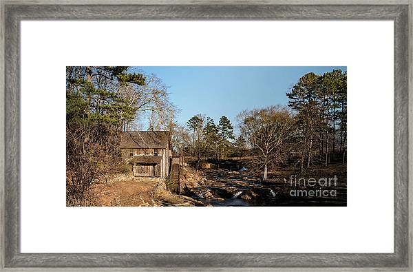 Sixes Mill Framed Print by Elijah Knight