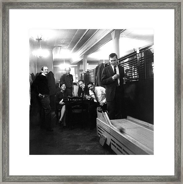 Skee-ball At Dillons Bar Framed Print