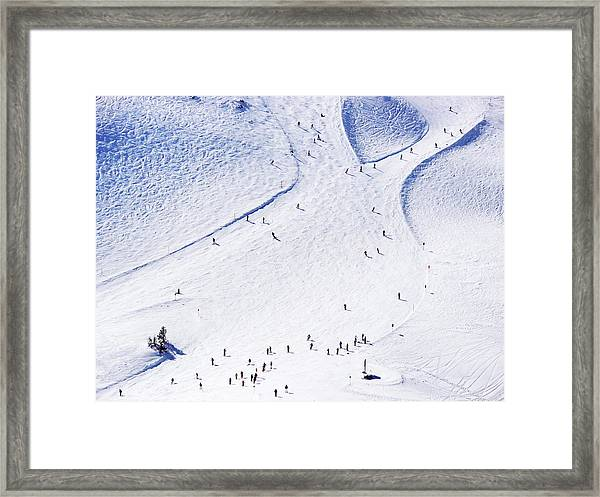 Ski Resort Framed Print