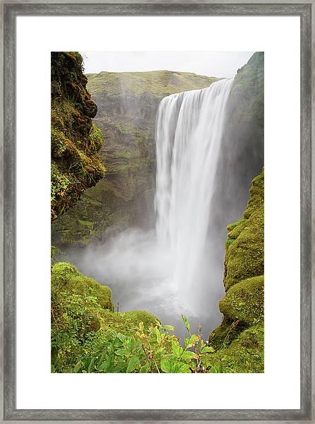 Skogafoss Iceland Framed Print