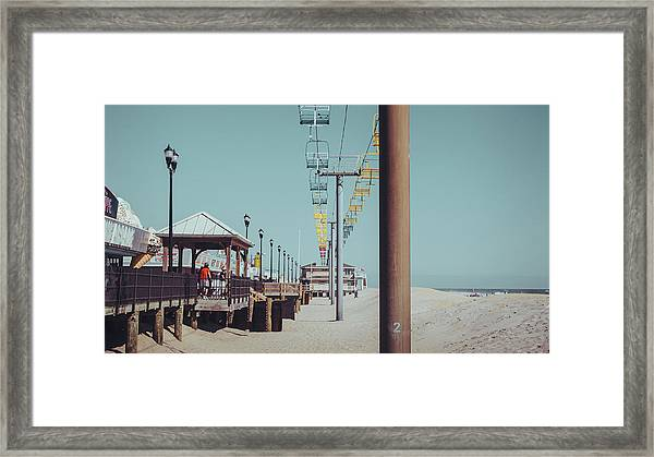 Framed Print featuring the photograph Sky Ride by Steve Stanger