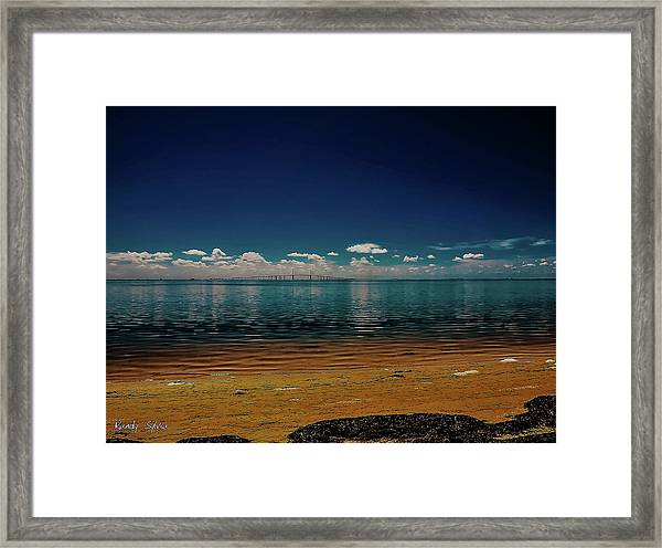 Sky Way Framed Print