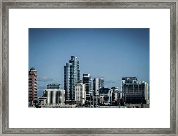 Skyline Framed Print by By Ken Ilio