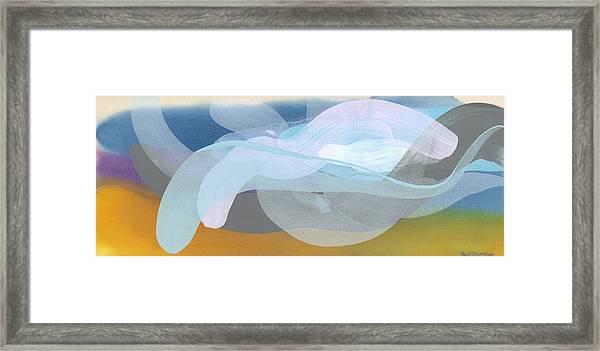Sleep In Past 8 Framed Print