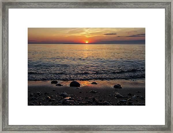Sleeping Bear Bay 1 Framed Print