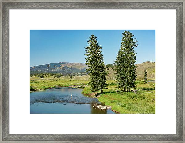 Slough Creek Framed Print